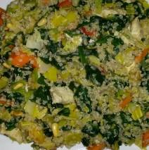 Pilav van Quinoa