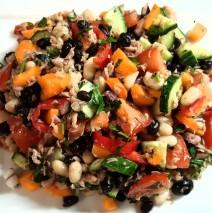 Maaltijdsalade – peulvruchten & tonijn